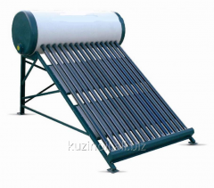 Solar collector for heating of water of 150 l