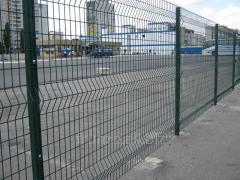 Забор, ограда, системы ограждения из сварной сетки