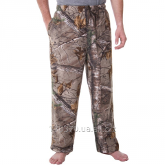 Штаны флисовые для охоты Realtree & Mossy Oak Men's Camo Microfleece Pant