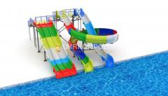 "Waterslide Ukrkompozit ""Tsunami"" MS-BS-KE-3.6"