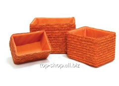 Set of baskets of Oranzh (3 pieces)