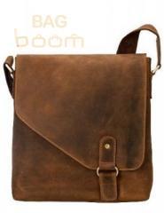 Man's leather bag tablet of 16071 OIL BRN