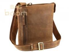 Man's leather Visconti 16111B Taylor bag (Oil