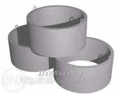 Reinforced concrete products. Rings, covers,