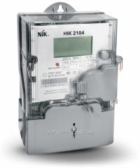 Multirate single-phase electronic meter of NIK