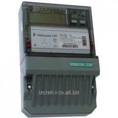 Счетчик электроэнергии трехфазный, активно/реактивный Меркурий 230 АR