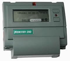 Electric power meter single-phase multitariff