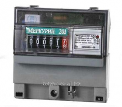 Electric power meter single-phase one-rate Mercury