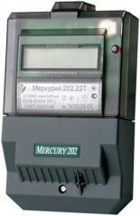 Electric power meter Mercury 202 single-phase