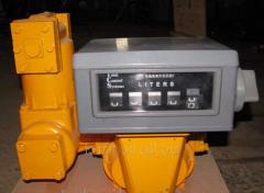 Объемомер, счетчик жидкости для складов ГСМ