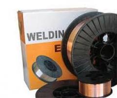Проволока сварочная 0.8 5 кг. WELDING WIRE ER70S-6
