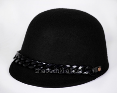 The hat is fel