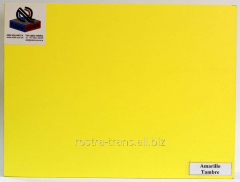 Plywood color decorative ODEK-Yellow