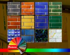 Плитка ручной формовки Любой цвет на ваш выбор
