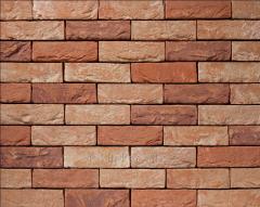 Tile of manual molding of 15 Azalea