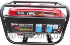 Gasoline-driven generator BG-3500 Proton