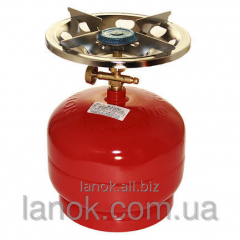 Gas cylinder of Piknik-Italy of RUDYY Rk-2 5 of l