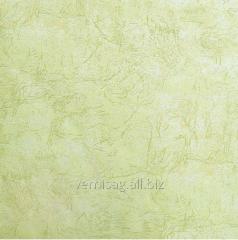 Бумажные обои 732-09, желто-зеленый