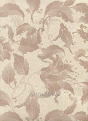Paper wall-paper 757-03, brown