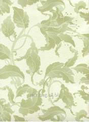Paper wall-paper 757-09, green