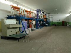 Услуги по переработке зерна в муку на давальческой