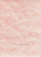 Paper wall-paper 759-08, coral