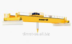 Кран Dimet мостовой электрический двухбалочный