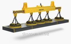 Dimet bridge crane electric truss, control from
