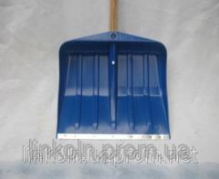 Лопата снегоуборочная пластмассовая ЛСУ прямая с