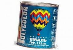 Эмаль Polycolor ПФ-115 0,9 кг слоновая кость