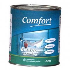 Эмаль алкидная Comfort ПФ-115 0,9 кг черная