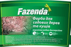 Краска для садовых деревьев и кустов Fazenda ТМ