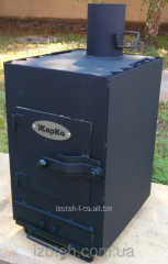 Oven the Potbelly stove two-chamber with...