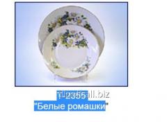 Dekol T-2355 White daisies