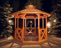 Беседка деревянная Amelie 2,8*2,8м  с доставкой по Украине