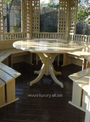 Furniture set for Wood Luxury arbor