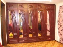 Двери эксклюзивные, из натурального дерева,