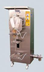 The automatic machine for pouring and packing of