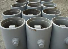 Backpressure valve 19s47nzh Du of 200 mm of Ru of