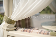 Curtains for kitchen of Wood Luxury