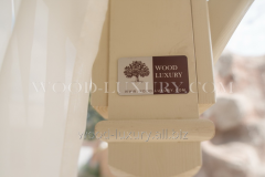 Шторы для офиса Wood Luxury