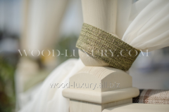 Pickups for Wood Luxury curtains