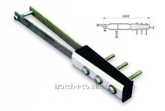 Анкерный зажим SO 166.295 предназначен для анкерного крепления 2-жильного СИП 2х95 на опорах или на стенах посредством стандартных крюков