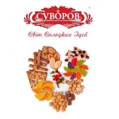 Кондитерские изделия ТМ Суворов