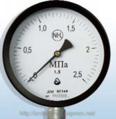 Манометр ДМ 05 для аммиака