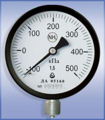 Manovakuummetr YES for ammonia