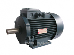 Electric motor asynchronous three-phase