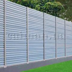 Fences noise-protective of PVC, noise screens,