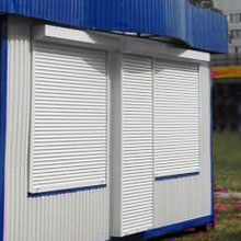 Production of trade pavilions, stalls, shops from