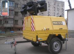 Power plant mobile diesel EPPM.